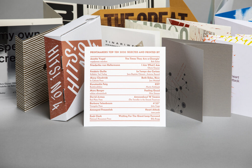 Hits! No.4 – collection of music inspired prints
